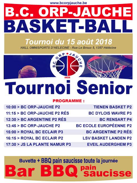 Tournoi Senior d'Orp-Jauche